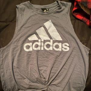 Adidas Crop Top Muscle tee (?)
